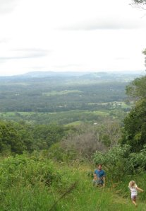 Sunshine Coast Hinterland: Run darling before a leech gets you