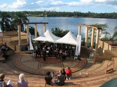 Noosa District Concert Band in the Amphitheatre