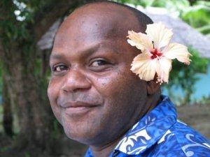 A Happy Ni-Vanuatuan Man