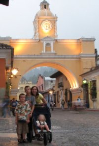 Me and the Kids, Antigua, Guatemala