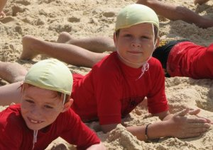 Hang out with people who motivate and inspire you. Australian Surf Life Savers Club, Nippers.