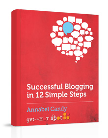 Successful blogging ebook cover